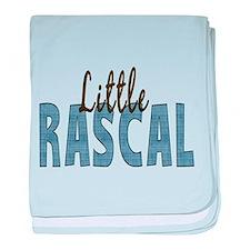 Little Rascal baby blanket