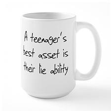 A teenager's best asset is th Mug