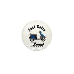Just Gotta Scoot Elite Mini Button (100 pack)