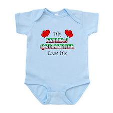 Italian Godmother Loves Me Infant Bodysuit