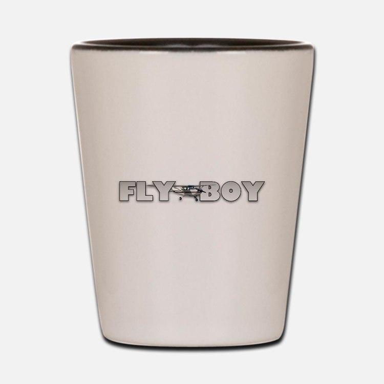 Cute Fly boy Shot Glass