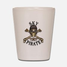 Sky Pirate Shot Glass