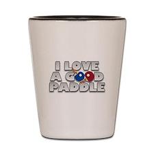 Cute Table tennis Shot Glass