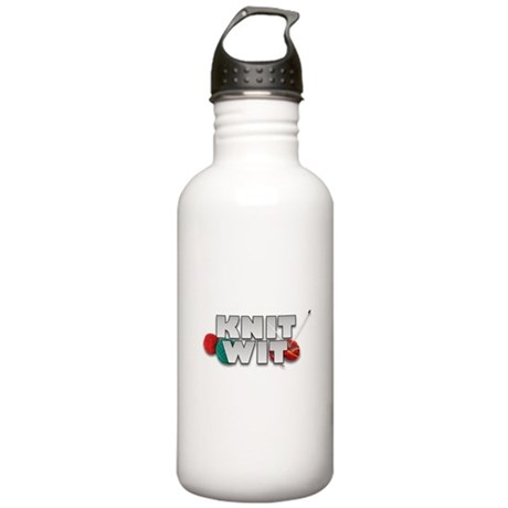 Knit Wit Knitter Stainless Water Bottle 1.0L