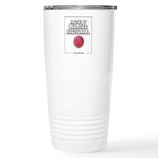 Adult League Kickball Travel Mug