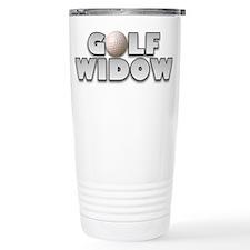 Golf Widow Travel Mug