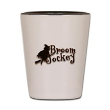 Broom Jockey Halloween Shot Glass