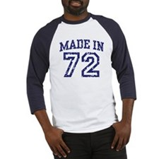 Made in 72 Baseball Jersey