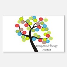 Occupational Therapy Sticker (Rectangle 10 pk)