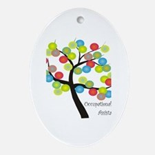 Occupational Therapy Ornament (Oval)
