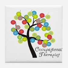 Occupational Therapy Tile Coaster