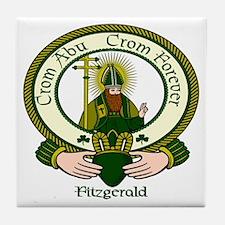 Fitzgerald Clan Motto Ceramic Tile
