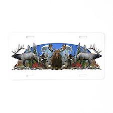 Big Game Aluminum License Plate