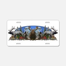 Bow hunting license plates bow hunting front license for Big 5 fishing license