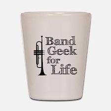 Trumpet Band Geek Shot Glass