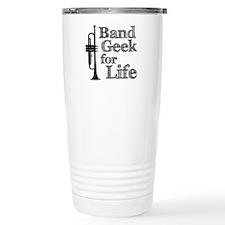 Trumpet Band Geek Travel Coffee Mug