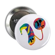 "Cute Cochlear implants 2.25"" Button"
