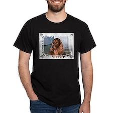 Irish setter Black T-Shirt