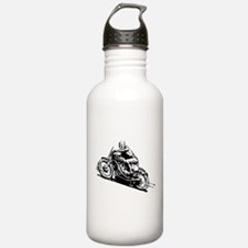 Vintage Motorcycle Water Bottle