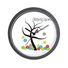Retired Occupations Wall Clock