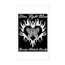 """Diva Fight Wear"" Decal"