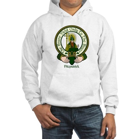 Fitzpatrick Clan Motto Hooded Sweatshirt