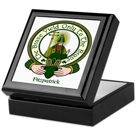 Fitzpatrick Clan Motto Keepsake Box