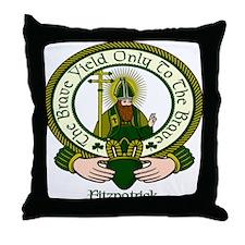 Fitzpatrick Clan Motto Throw Pillow