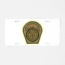 SLED Tracking Team Aluminum License Plate