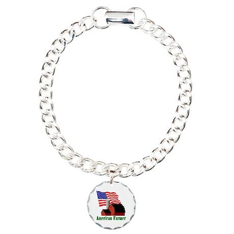 The American Farmer Charm Bracelet, One Charm