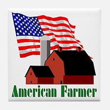 The American Farmer Tile Coaster