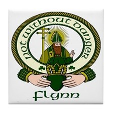 Flynn Clan Motto Tile