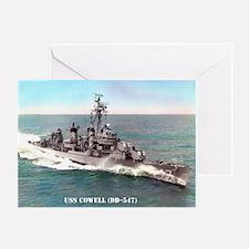 USS COWELL Greeting Card