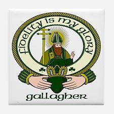 Gallagher Clan Motto Ceramic Tile