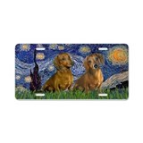 Dachshund License Plates