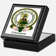 Gillespie Clan Motto Keepsake Box