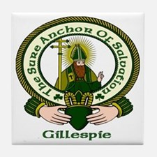Gillespie Clan Motto Ceramic Tile