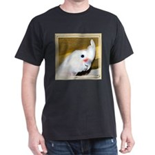 Goffin Cockatoo Black T-Shirt