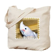 Goffin Cockatoo Tote Bag