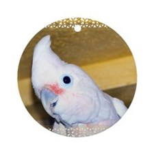 Goffin Cockatoo Ornament (Round)