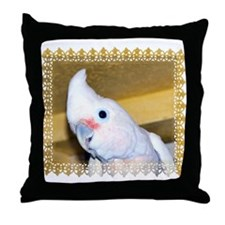 Goffin Cockatoo Throw Pillow