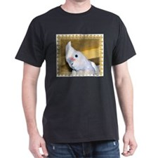 Goffin Cockatoo Black T-Shirt