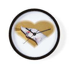 Goffin Cockatoo Wall Clock