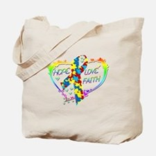 Hope Love Faith Tote Bag