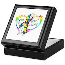 Hope Love Faith Keepsake Box