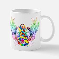 Awareness Tribal Puzzle Mug
