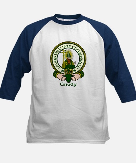Grady Clan Motto Kids Baseball Jersey
