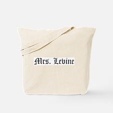Mrs. Levine Tote Bag