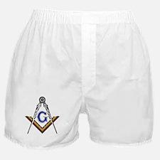 Masonic Square and Compass Boxer Shorts
