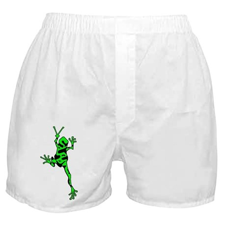 Green Peace Frog Boxer Shorts